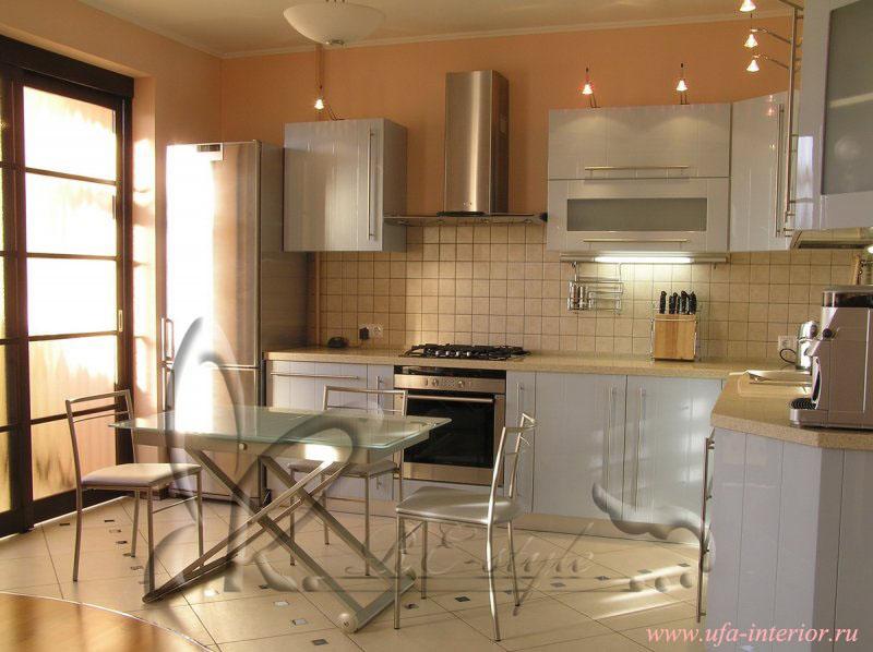 Отделка и дизайн кухонь фото